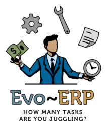 ERP Software Hat Juggler